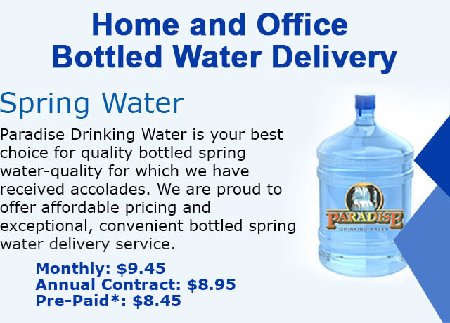 Spring Water Delivery Service